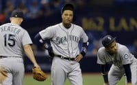 The Mariners lost five of six games before breaking their skid with a 6-4 win on Thursday. (AP)