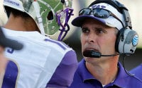 Chris Petersen on Huskies' strength on D, need for progess on offense
