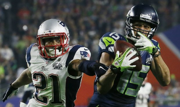 Wide receiver Jermaine Kearse is one of four Seahawks free agents to return to the team. (AP)...