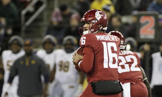 "Gardner Minshew and WSU ""attack all 53 yards of the field,"" Brock Huard says. (AP)..."
