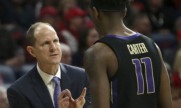 The UW Huskies snapped their NCAA Tournament drought in Mike Hopkins' second year. (AP)...
