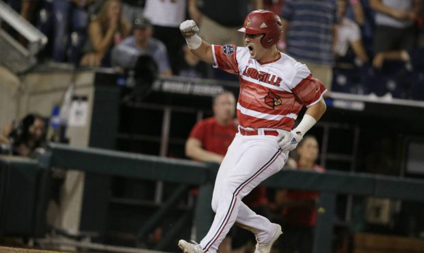 timeless design catch famous brand Louisville rallies for 4-3 win over Mississippi State at CWS
