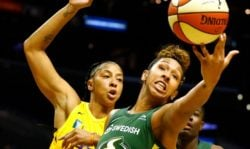 Seattle Storm lose to Sparks