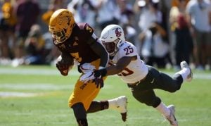 No. 18 Arizona State rallies to beat WSU 38-34 on late scramble