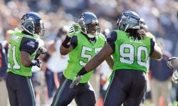 Seahawks to wear green and blue
