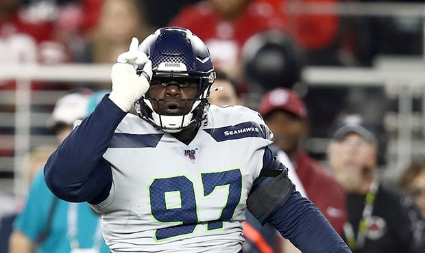 Seahawks Poona Ford...